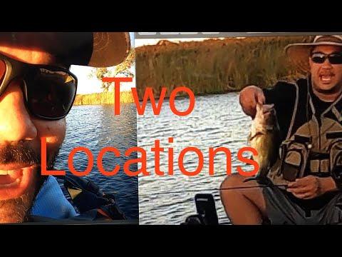 Lake Chabot Fishing In A Kayak Searching For Bass.
