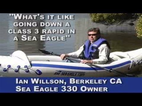 Ian Wilson talks about his Sea Eagle Kayak