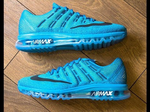 Nike Air Max 2016 Flyknit women (USA 8) (UK 5.5) (EU