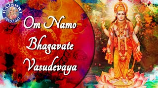 Om Namo Bhagavate Vasudevaya 108 Times | Popular Peaceful Meditation Chant | Krishna Dhun Mantra
