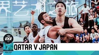 Qatar v Japan - Quarter-Finals - Men's Full Game - FIBA 3x3 Asia Cup 2018