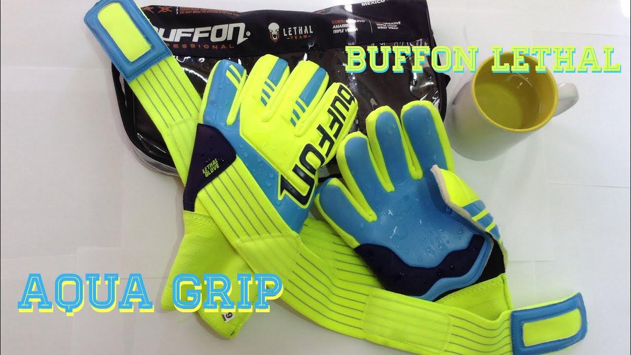 Review guantes BUFFON LETHAL Aqua Grip - YouTube 57c1956d1e8