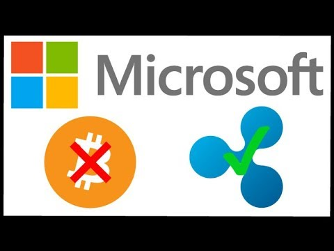 Microsoft Stops all Bitcoin Transactions - Could Microsoft Use Ripple XRP Instead?