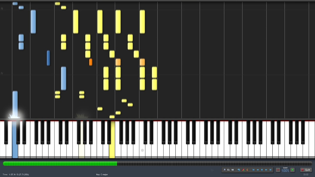 Download Luck As A Constant - Periphery - Synthesia Piano Playthrough + MIDI File