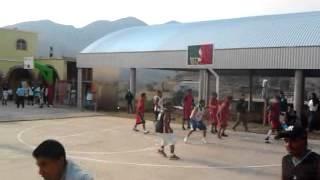 Basquetbol en San Antonino Monteverde, oax.