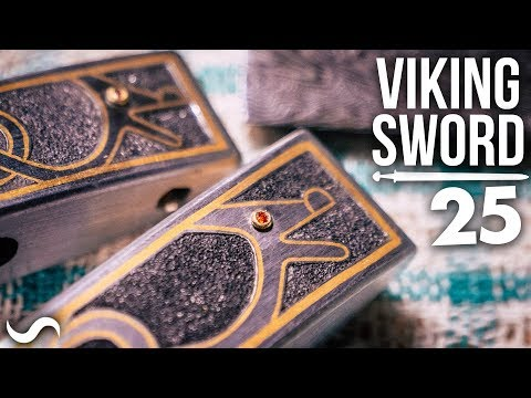 MAKING A VIKING SWORD!!! Part 25