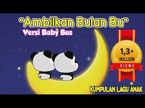 Ambilkan bulan bu lagu anak terpopuler ❤ Kartun BabyBus ❤ Video edukasi anak ❤ children songs