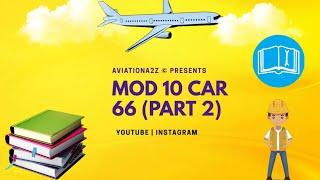Gambar cover MODULE 10 PART-2 CAR 66  AVIATIONA2Z © 