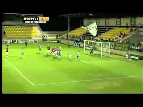 Charlton V Sporting Lisbon friendly Highlights
