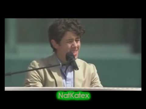 Nick Jonas -- A Little Bit Longer + Speech -- Easter Day, 2010.
