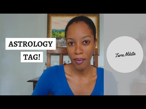 Astrology Tag 2018 - Answer These Questions