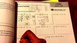 1-12: Grouping Symbols