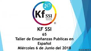 2018 06 06 PM Public Teaching in Spanish - Enseñanzas públicas en Español