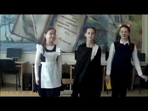 Изображение предпросмотра прочтения – «коллектив №3» читает произведение «Ворона и Лисица» И.А.Крылова