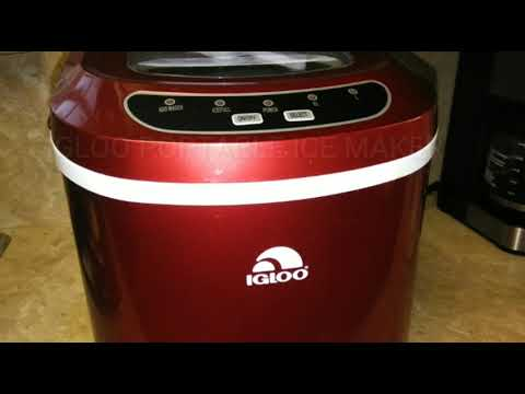 ICE MAKER IN YOUR FRIDGE BROKEN?? ll IGLOO PORTABLE ICE MAKER TO THE RESCUE