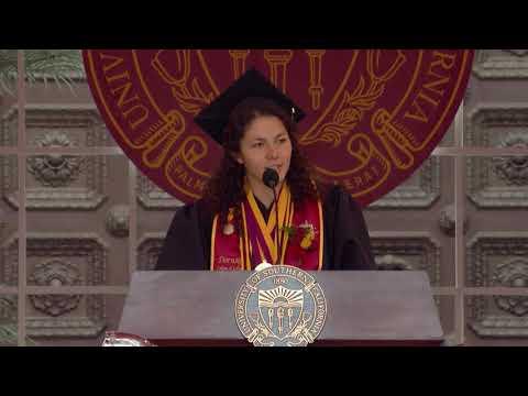 Rose Campion | USC Commencement 2018 Valedictorian Speech