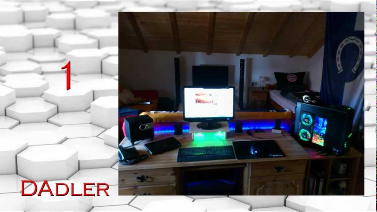 Schreibtischplatte ecke  Gamer Ecke Gewinner - The Computer Artists - YouTube