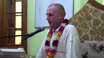 Бхагавад Гита 18.54 - Мадхава Кришна прабху