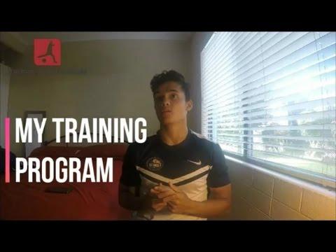 My Training Program for 2017