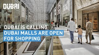 Dubai's malls have reopened