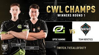 Optic Gaming vs Team Heretics | CWL Champs 2019 | Day 3