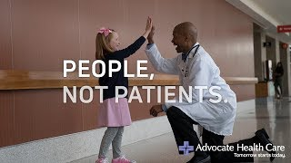 Transforming health care. Advocate. Tomorrow starts today.