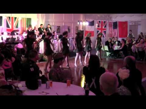 1940s Big Band Dance  That Swing Sensation  and  the Kennedy Cupcakes   World War 2 Charity Ball