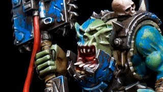 How to paint Deathskulls Death Skulls Ork Nob by Lester Bursley(, 2014-05-07T03:02:32.000Z)