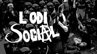 Concert de L'Odi Social a Caserre l'any 1988. Al principi hi ha un ...
