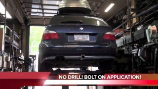 G-Power Hurricane RS Touring - BMW M5 E61 Touing 2011 Videos