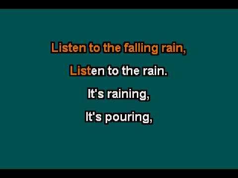 Rain -  Jose Feliciano - KARAOKE version