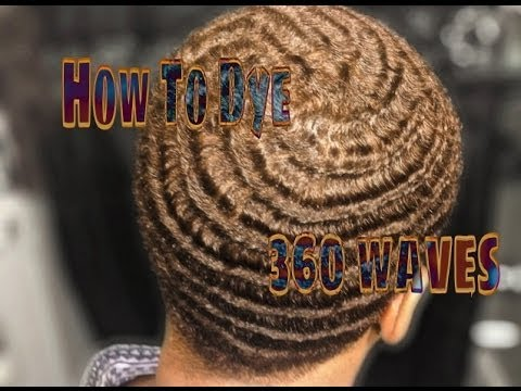 How To Dye Your 360 Waves Youtube