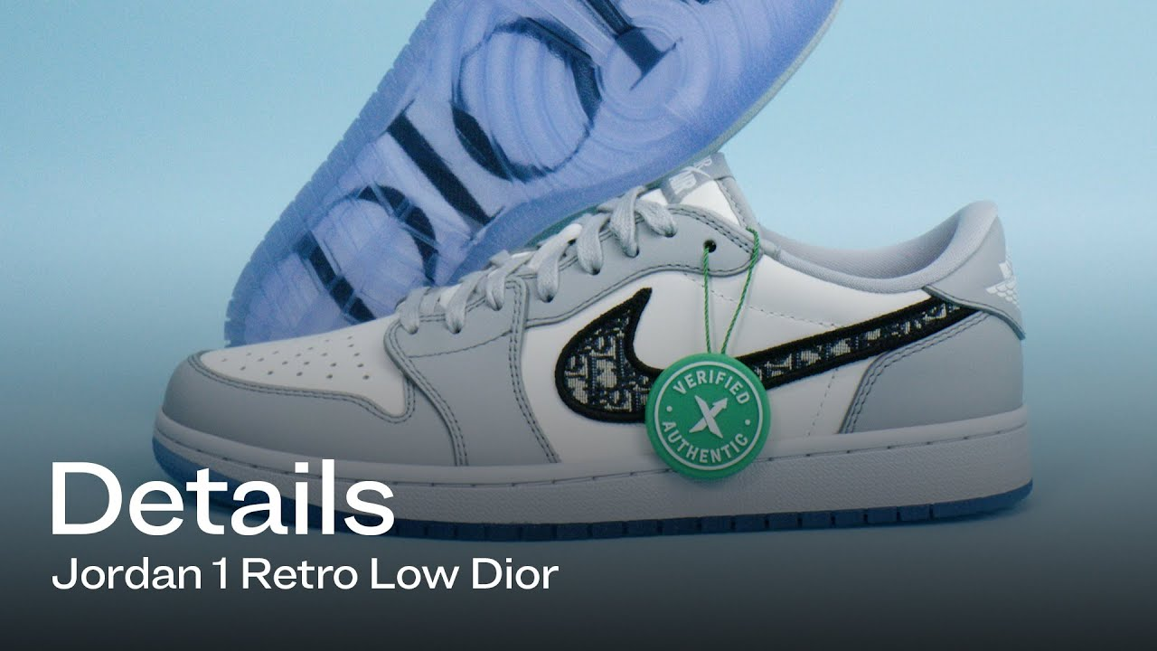 jordan 1 low dior details youtube jordan 1 low dior details