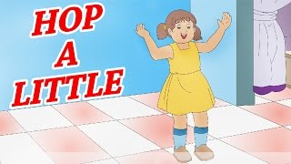 Animated Nursery Rhyme in English | Hop A Little