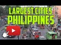 Top 10 Largest Cities in Philippines by Population | Join Us Free www.Filipino4U.com
