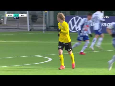 KuPS HJK Helsinki Goals And Highlights