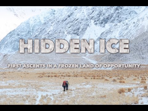 Hidden Ice: Discovering a new ice climbing arena in New Zealand