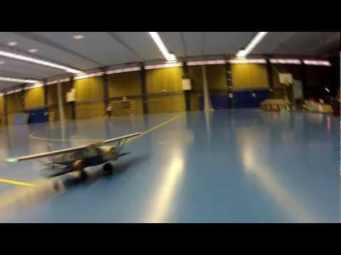 Rc Air France Breguet 393T plane shot from a quadcopter