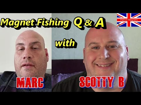 Magnet Fishing Q&A With Patriot Magnets Scotty B And Marc