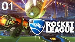 ROCKET LEAGUE #01 - Autoball auf Speeeeed