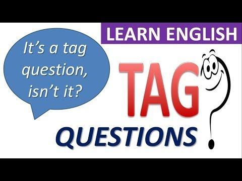 Learn English   Grammar   Tag Questions