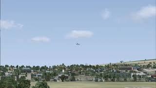Microsoft Flight Simulator X - Landing to sultan Iskandarmuda (Lion Air)