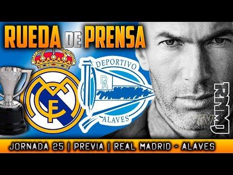 Real Madrid - Alavés Rueda de prensa de Zidane (23/02/2018)   PREVIA LIGA JORNADA 25