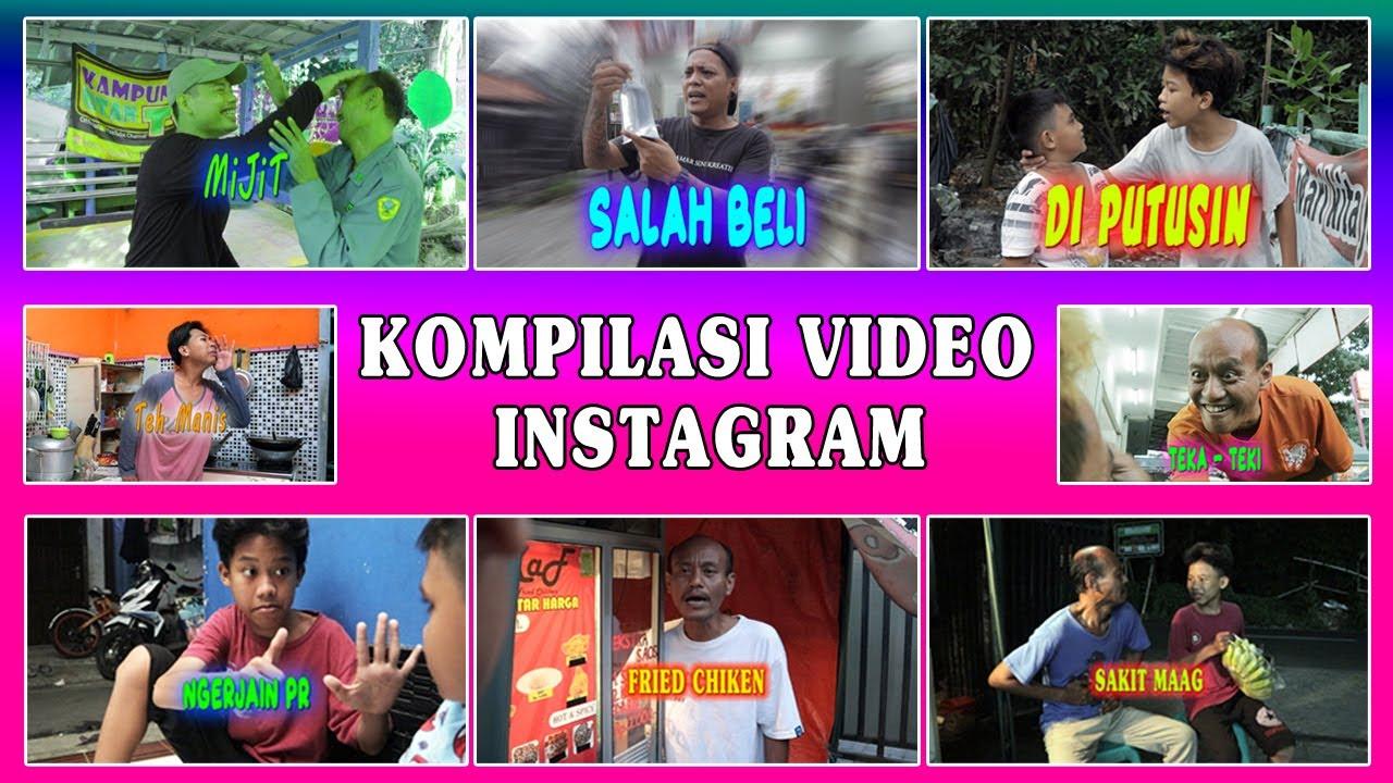 Kompilasi Video Instagram Part 1   Kampung Utan TV