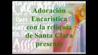 STA CLARA DE ASIS 800 AÑOS celebración de la JUFRA