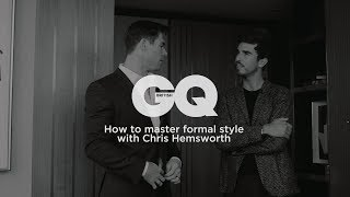 How to master formal style with Chris Hemsworth | British GQ