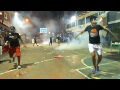 2017/2018 New Year Firecrackers Night in Pandacan, Manila