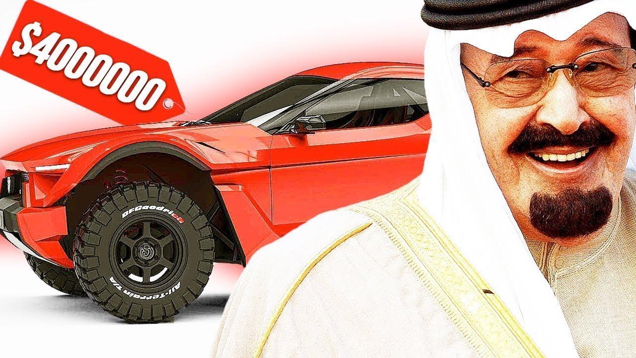 سيارات فريدة من نوعها...و لا أحد يمتلكها غير الشيوخ العرب !!!