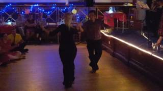 Josie & Vasilis Lindy Hop Showcase at ''Swingin' Spring'' (UK)