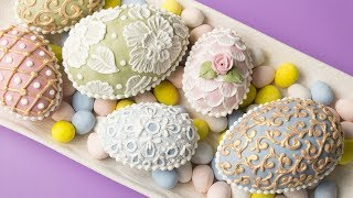 3D EASTER EGG COOKIES! Collab with HANIELA'S